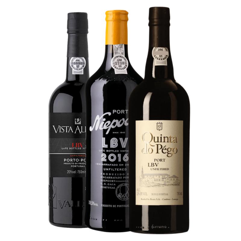 3 x LBV fra hver sin vinhus