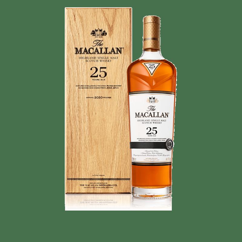 Macallan 25 års 2020 release