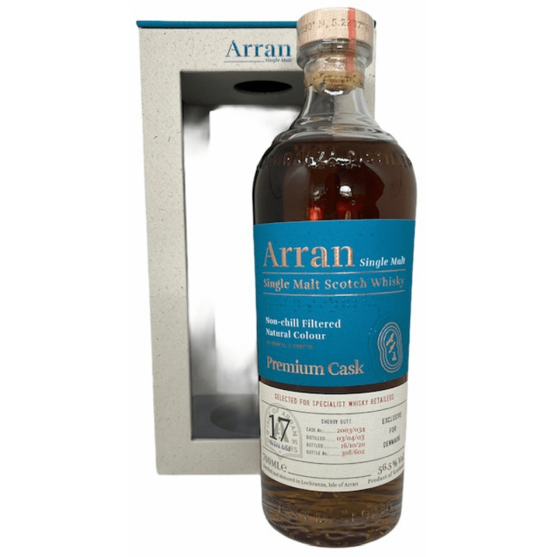 Arran 17 års Premium cask 56,5 % single malt-0