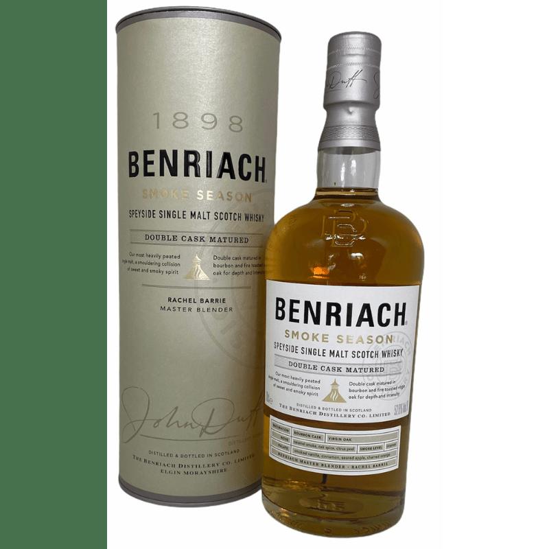 BenRiach smoke season single malt 52,8 %-0