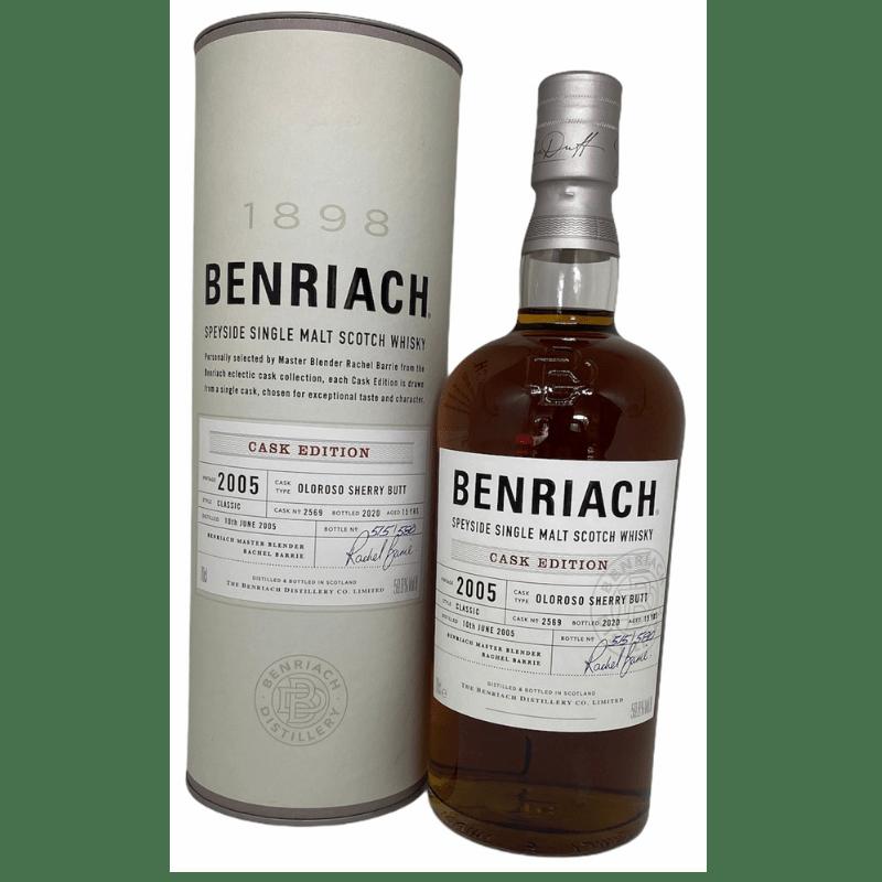BenRiach 2005 Cask edition 15 års 59,8 %-0