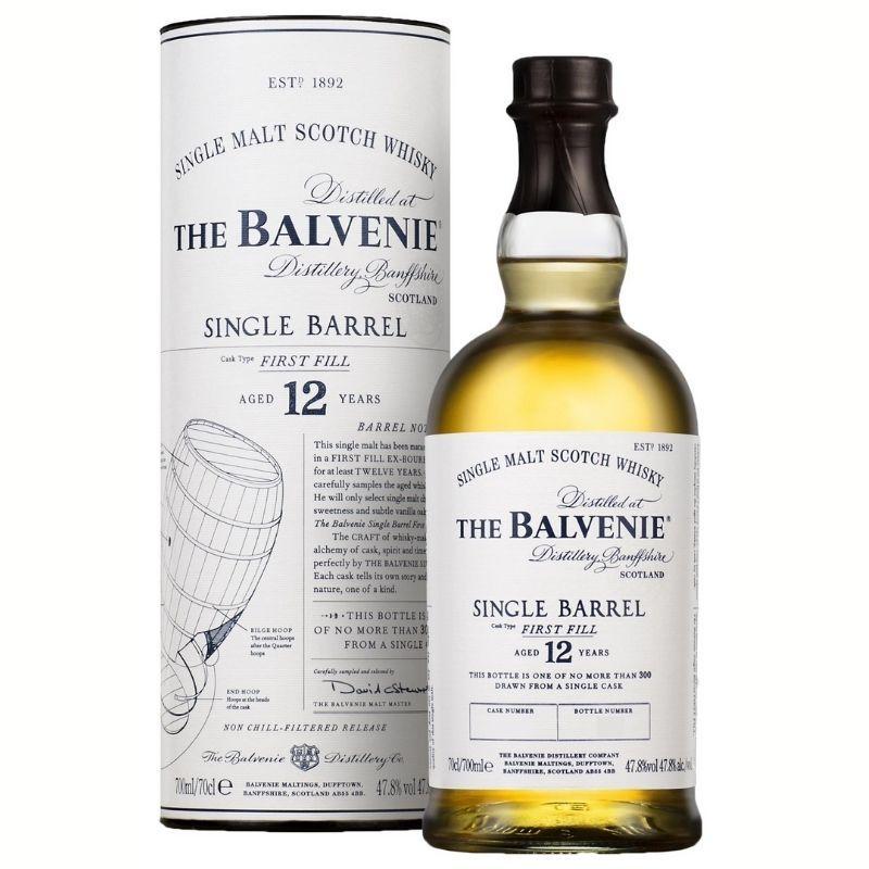 Balvenie 12 single barrel first fill