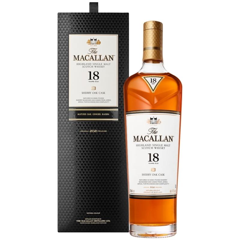Macallan 18 års 2021 release