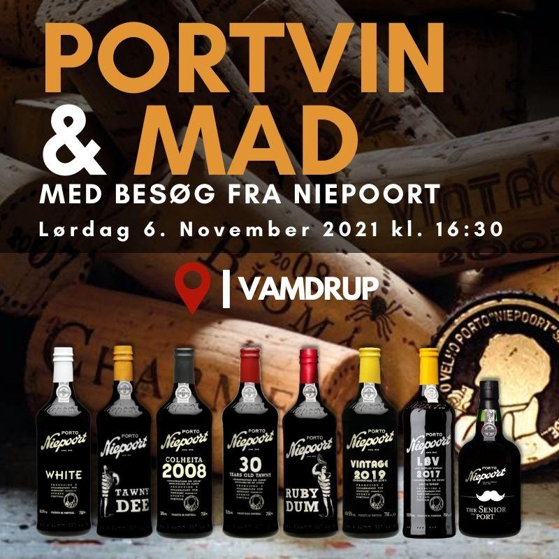Niepoort Smagning 2021 - PORTVIN & MAD