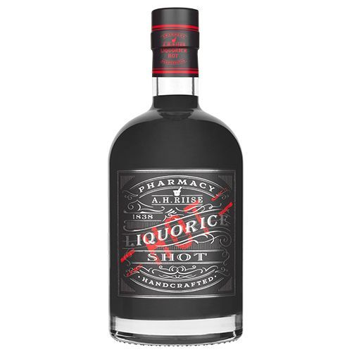 Liquorice shot hot A.H. Riise