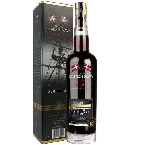 A.H. Riise Royal Danish Navy The Frigate Jylland Rum