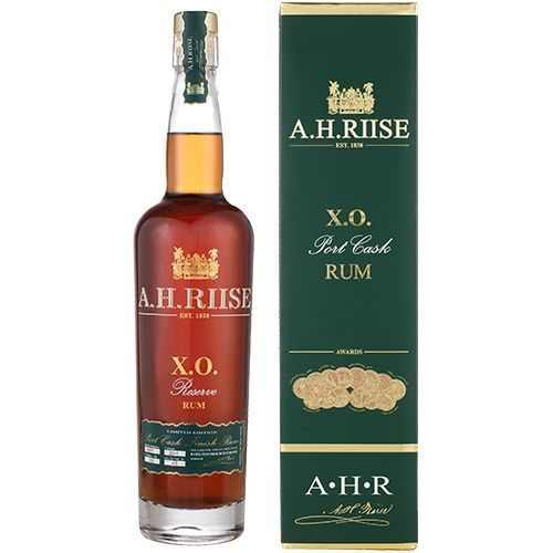 A.H. Riise XO Port cask finish Vintage 2015