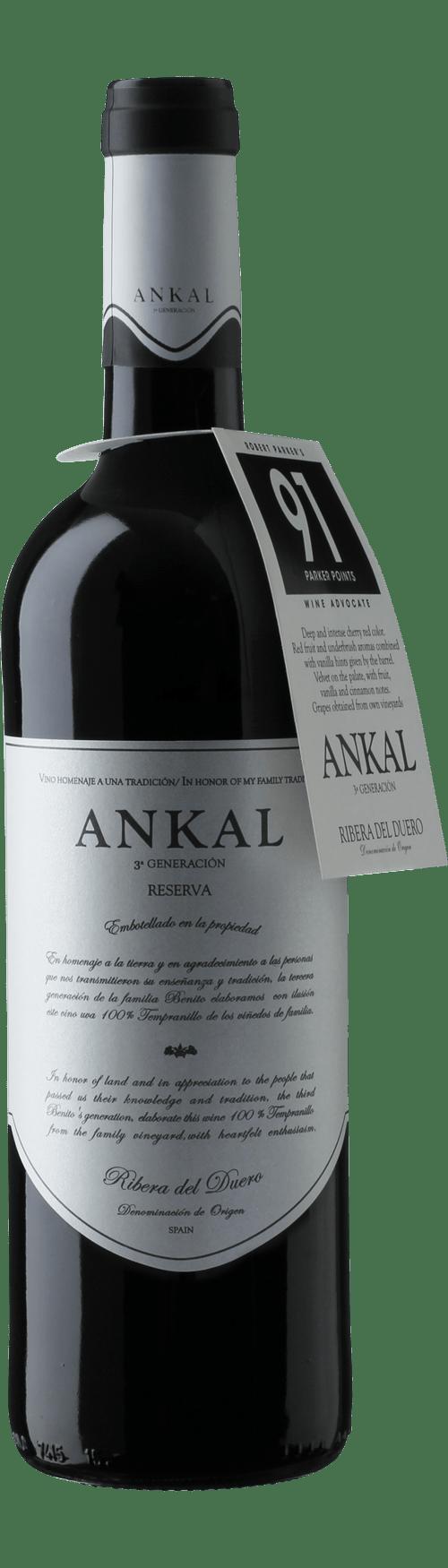 Ankal Reserva Ribera del Duero