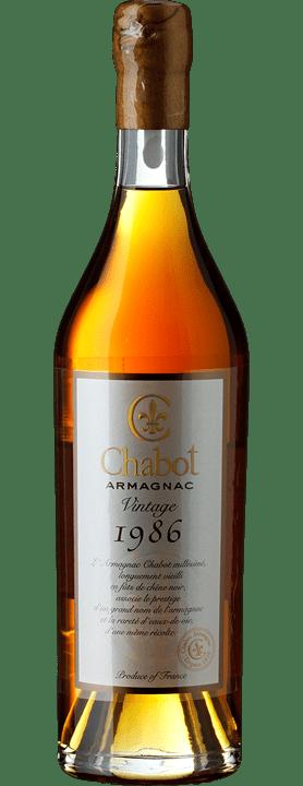 Armagnac Vintage 1986 Chabot