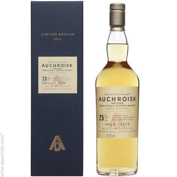 Auchroisk 25 års Limited Edition 2016, Speyside