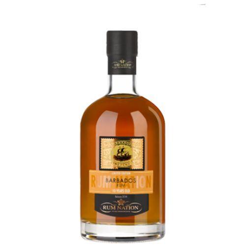 Barbados 10 års Barbados 40 % Rum Nation Limited release 2017