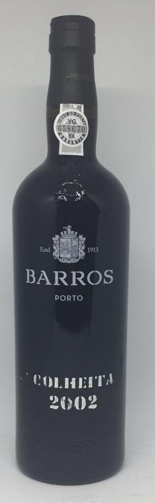 Barros 2002 Colheita portvin flasket 2012