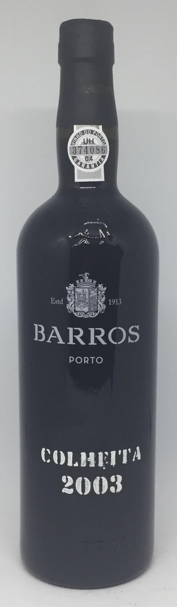 Barros 2003 Colheita