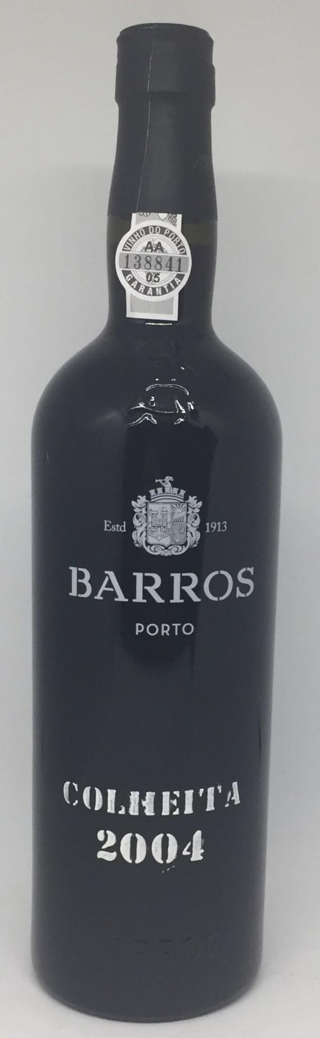 Barros 2004 Colheita flasket 2012