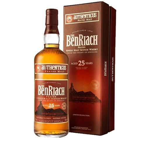 Benriach 25 Års peated Authenticus