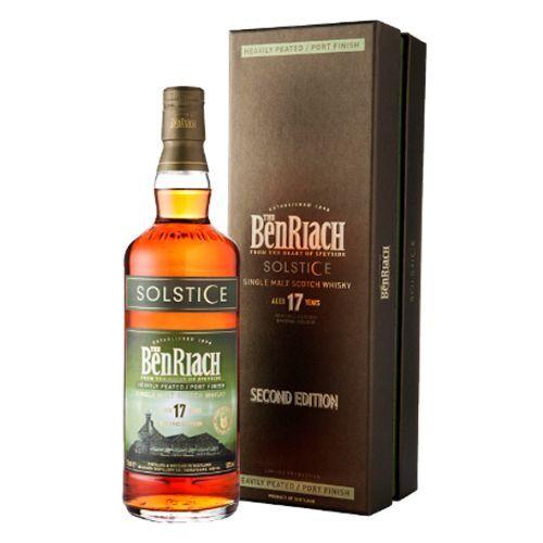 BenRiach 17 års, Heavily peatet/Port finish, Solstice