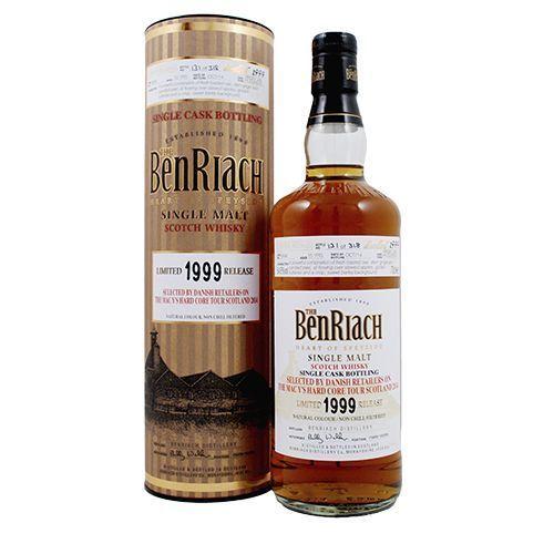 BenRiach 1999 Virgin oak single malt-Limited release