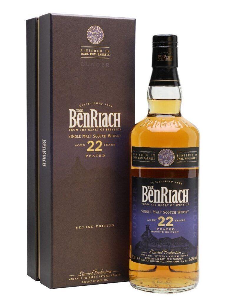 BenRiach 22 Års Dunder Peated