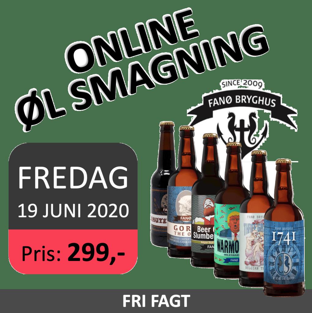 Fanø Bryghus online øl smagning
