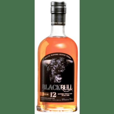 Black Bull 12 års blended 50% malt og 50 % korn