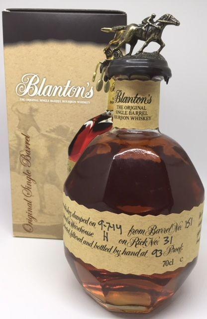 Blaton´s single barrel bourbon whisky