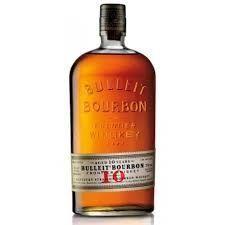 Bulleit Bourbon 10 Års Kentucky Straight Whisky