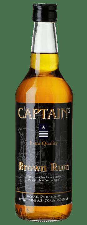 Captain´s Brown rum til cocktails og drinks