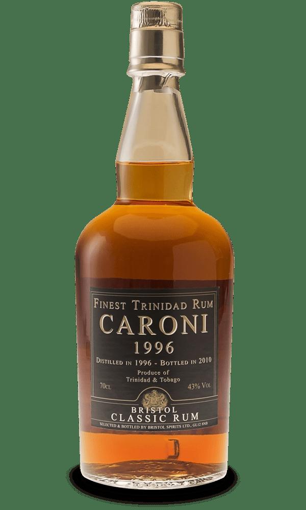 Caroni 14 års Dest. 1996 og flasket 2010, 43 %