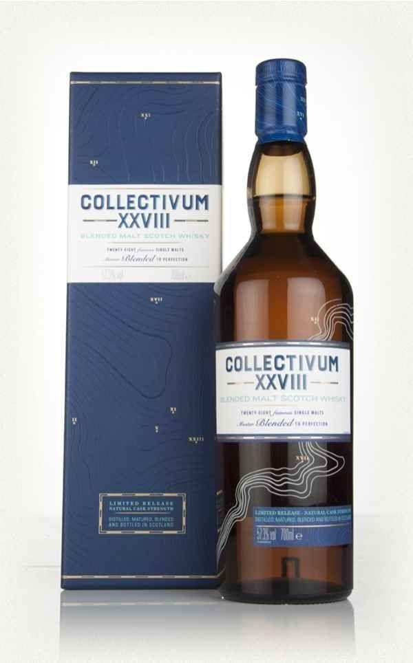 Whisky 28 destillerier samlet i et Blend fra Diageo