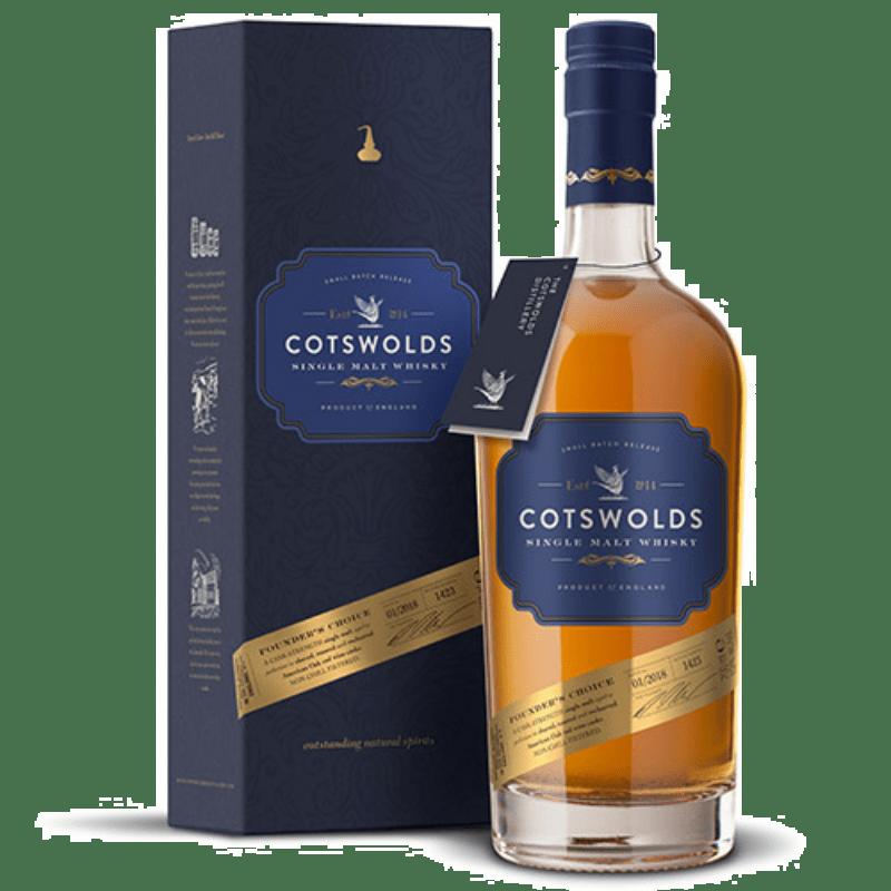 Cotswolds Single malt Founder`s Choice Cask Strength 60,4 %