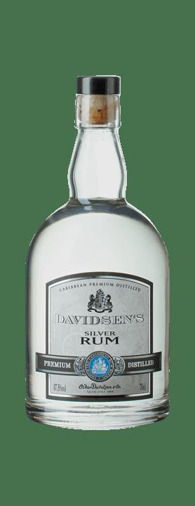 Davidsen Silver hvid rom