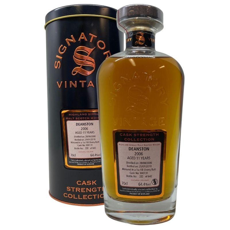 Deanston 2006 11 års 64,4 % Signatory vintage-0