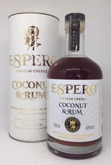 Rom og kokos likør, Espero 40 %