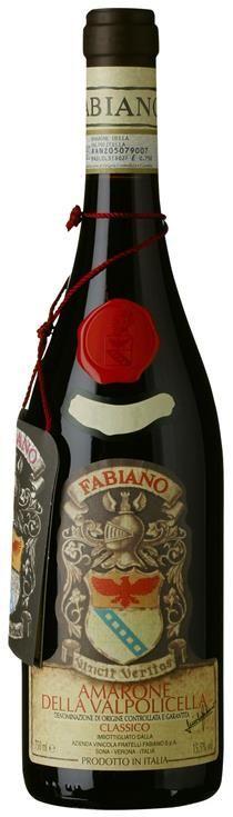 Amarone Delle Valpolicella DOCG Classico 15,5 % Fabiano
