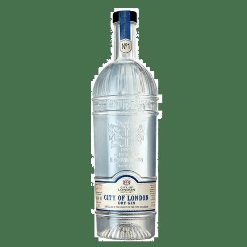 Gin City og London dry gin No 1