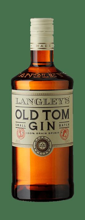 Gin Old Tom Langleys`s Small Batch 100 % Grain Spirit