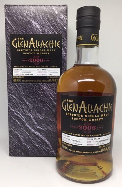 GlenAllachie 2006 Batch 1 12 års 61,4 %