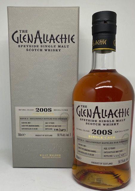 GlenAllachie 2008 12 års Madeira barrel 58,1 %
