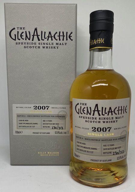 GlenAllachie 12 års Moscatel Barrel 63,8 %