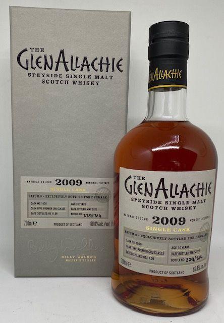 GlenAllachie 2009 10 års 60,0 % Premier Cru classe