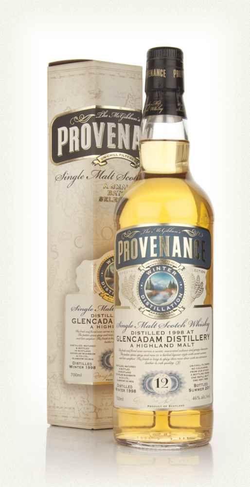 Glencadam 1998, 12 års Provenance Douglas McGibbon