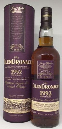 GlenDronach 1992, 25 års 48 %, l. release 2018