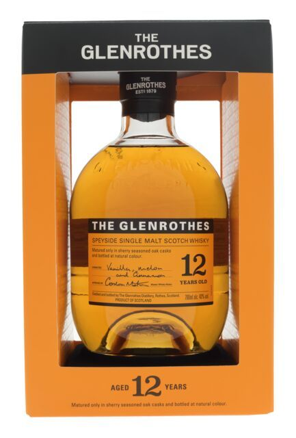 Glenrothes 12 års Speyside single malt 40 %