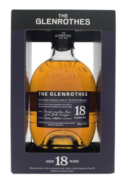 Glenrothes 18 års Speyside single malt 43 %