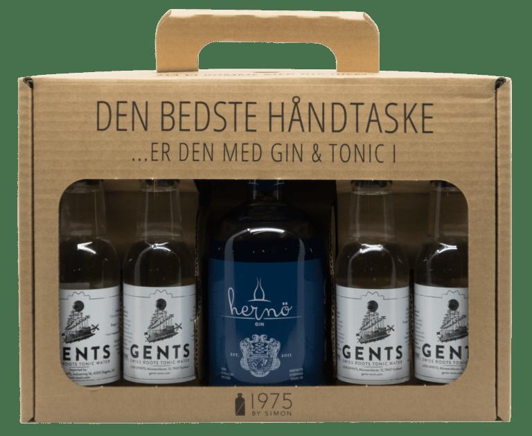 Hernö Swedish Excellence London Dry Gin i håndtaske