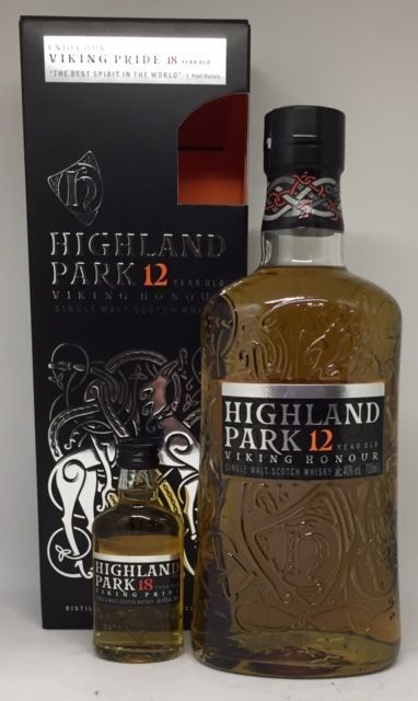 Highland Park 12 års med 5 cl 18 års