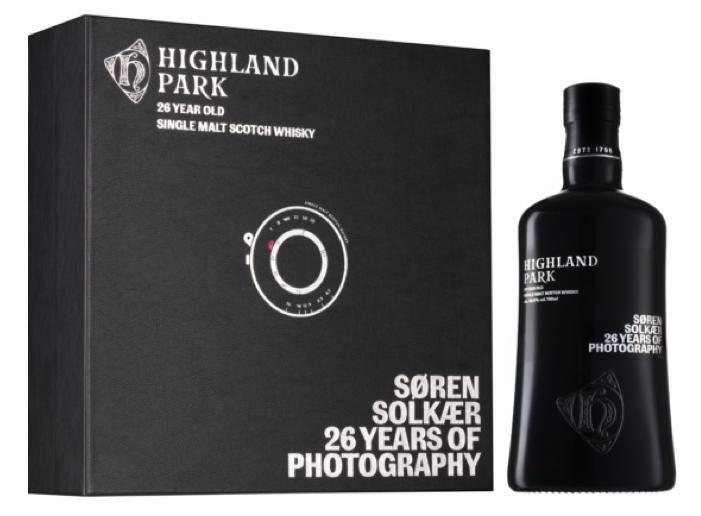 Highland Park 26 års foto og Single malt