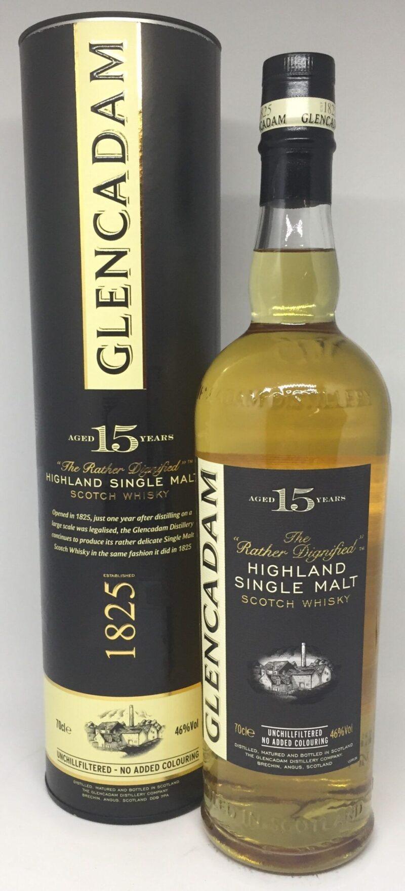 Glencadam 15 års Highland single malt 46 %