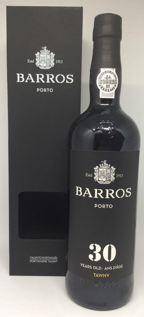 Barros 30 Års gammel Tawny portvin.