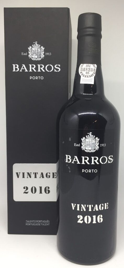 Barros Vintage 2016 Porto